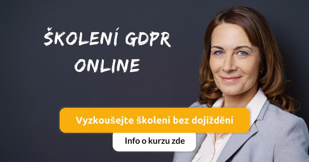 Online školení GDPR - Seznámení s legislativou upravující GDPR
